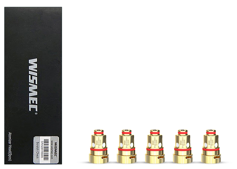 Wismec WV01 Mesh Coil 0.8 ohm Pack of 5